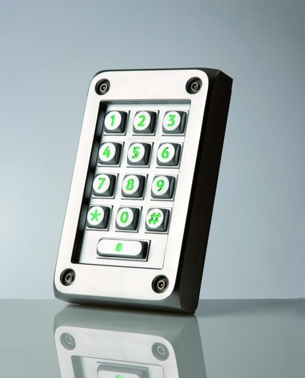 Paxton Vandal  Entry keypad