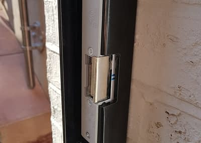 Hinged Bar Security Gate - Electric Locking Options