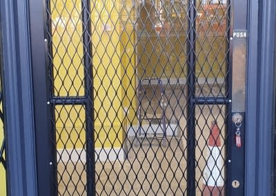 Mesh security grilles
