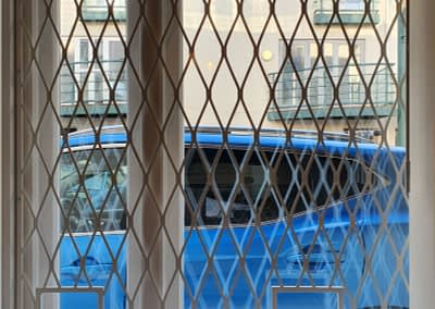 Mesh window grille