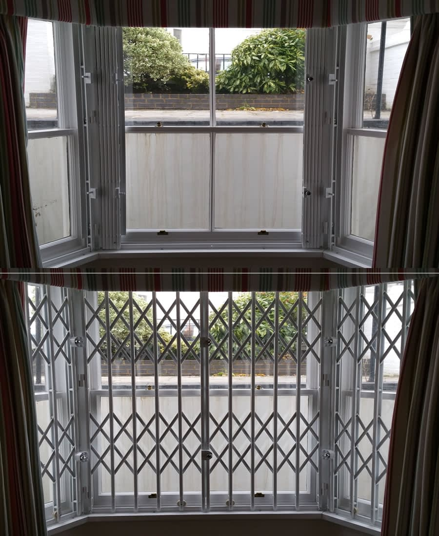 Collapsible / Retractable Security Gates