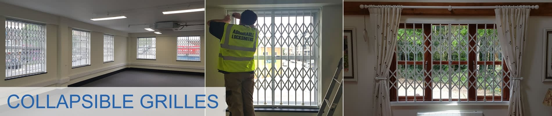 Collapsable Security Grilles