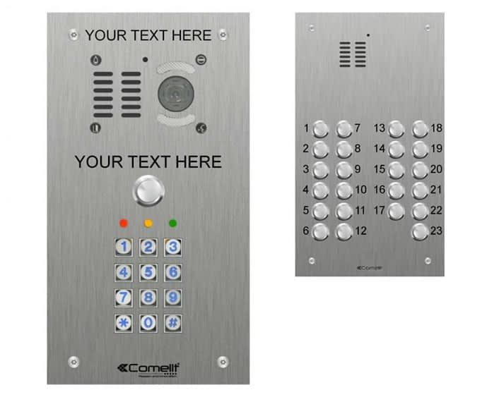 Door Entry System Button Panel