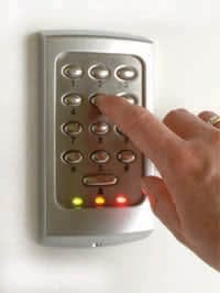 Entry Electronic keypad